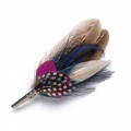 navy-pink-spotty-feather-brooch-buttonhole