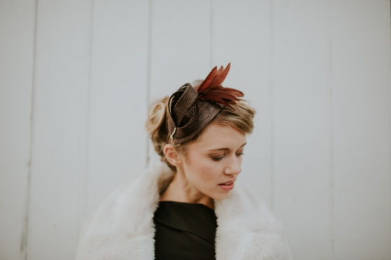 'Burgh' Art Deco Mini Hat