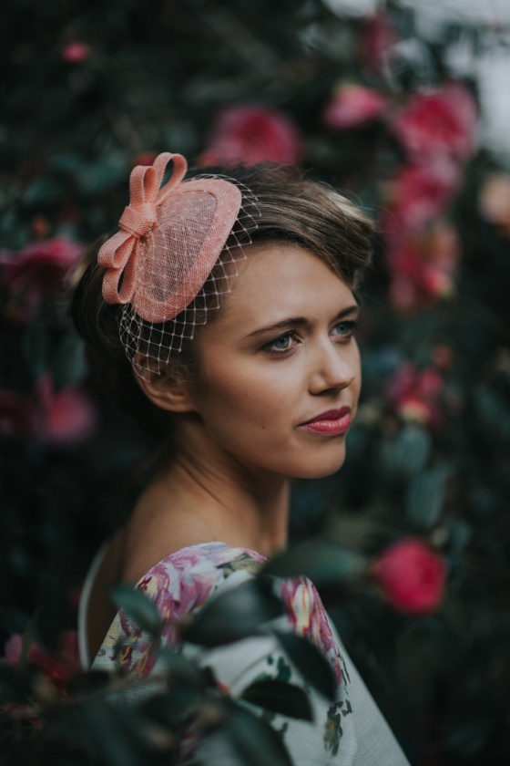 Customizable Peach Headpiece