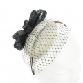 Vintage Inspired Two Tone Fascinator