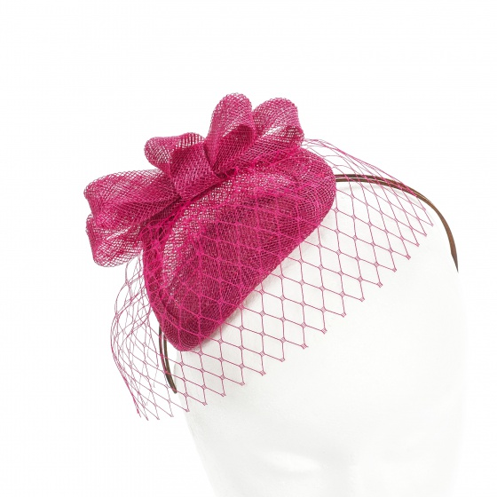 Customizable Fuchsia Headpiece