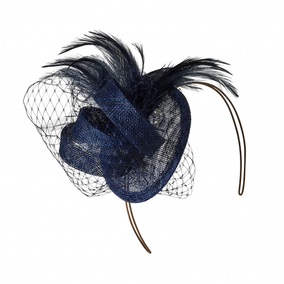 Classic Navy Fascinator