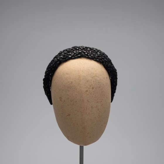 'Glabra' Straw Braid Headband