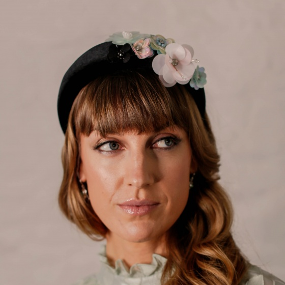 'Apo' Sequin Flower Headband