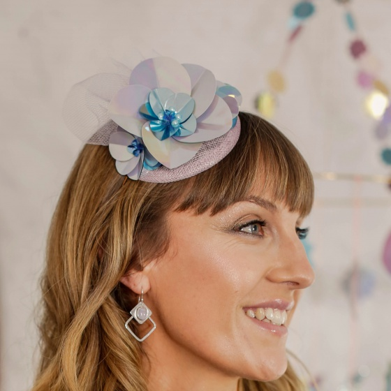 'Xenia' Sequin Fascinator
