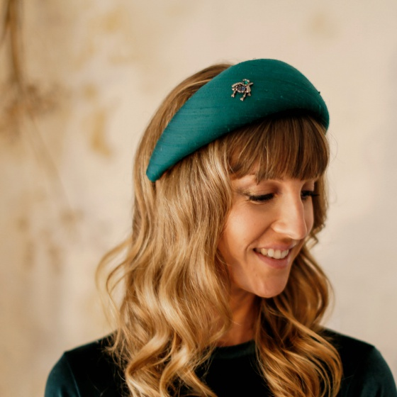 'June Bug' halo hat band