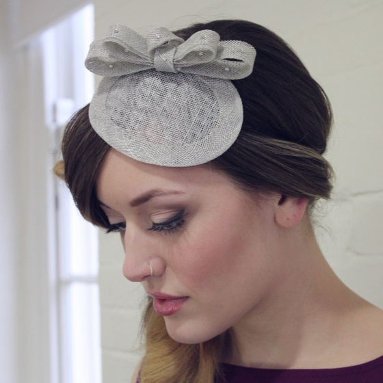Customizable Grey Headpiece
