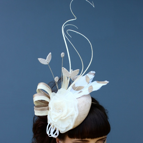 'Feria' Sculptural Headpiece