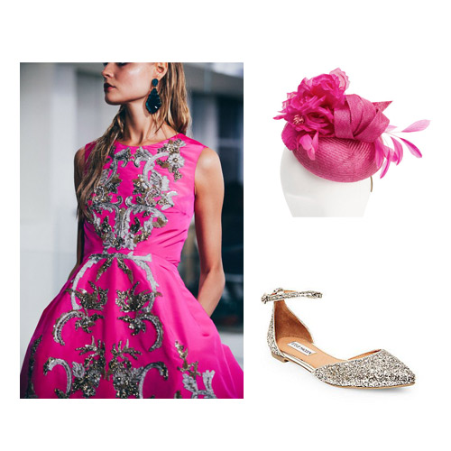 Pink-Wedding-Races-Headwear-Outift