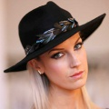 black-fedora-hat-with-feathers-Holly-Young