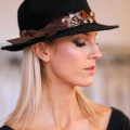 black-trilby-with-feather-band-Holly-Young