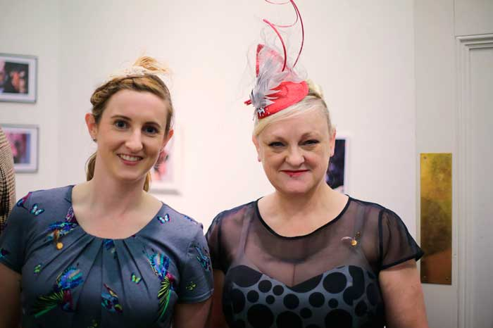 women at millinery party