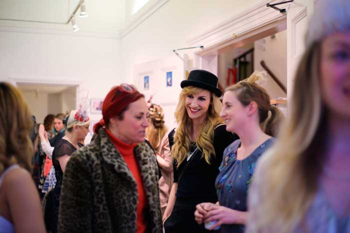 holly-young-private-view-party
